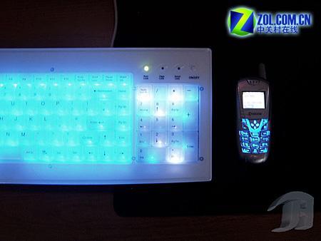 和手机心心相通:能感应来电的PC键盘(2)