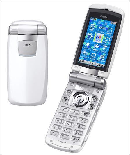 QVGA也过时卡西欧推超级屏幕手机W21CAII