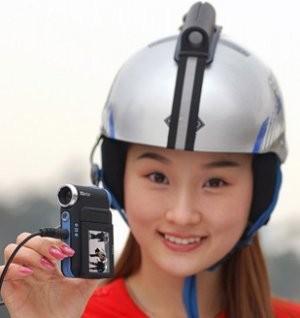 运动型MM要关注三星新款迷你摄像机开卖