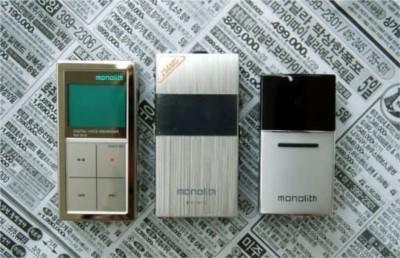 反苹果风格Monolith新款mp3再掀韩风