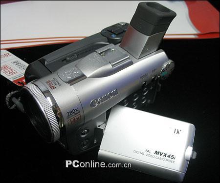 光学防抖佳能新款摄像机MVX45i上市