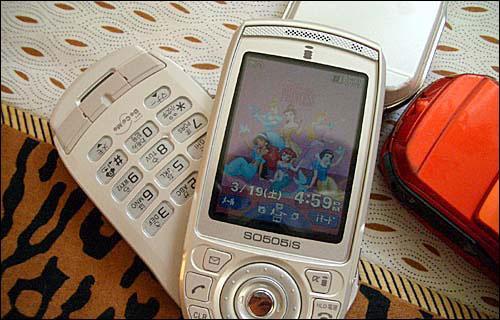 索爱日版机SO505仅卖650只能把玩不能通话