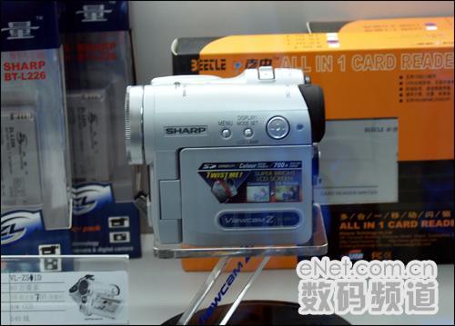 降幅千元夏普数码摄像机现在只卖4199元