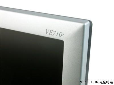 面板再度换新优派VE710S之8ms版液晶测试
