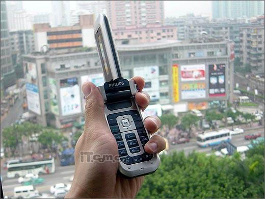 开始发力飞利浦百万像素手机760便宜上市