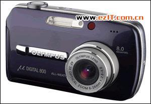 800万像素奥林巴斯推出高端时尚相机