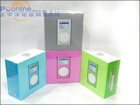 [重庆]新版iPodmini低姿态售价1799元