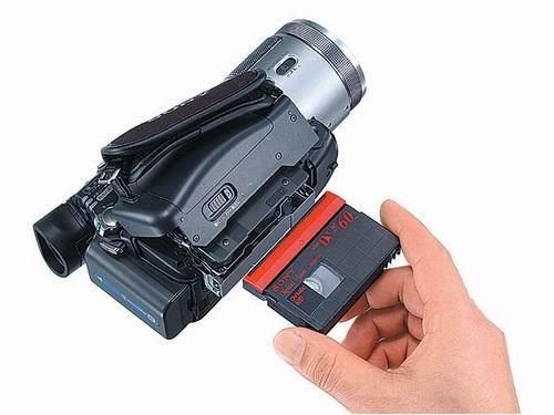 又说是最小索尼HDR-HC1数码摄象机发布