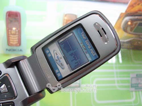 三星百万像素蓝牙手机E728上市售价4880元