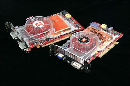 AGPPCIE齐出鞘ATI原厂显卡X850多图赏析