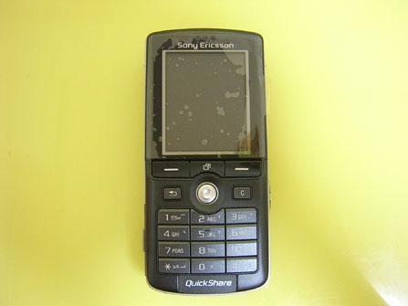 干掉低端DC索爱200万像素手机K750到货