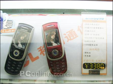 三星蓝牙手机E728上市滑盖E808降至3380元
