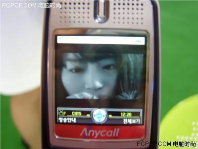 影音使者三星数字多媒体广播手机B130露脸