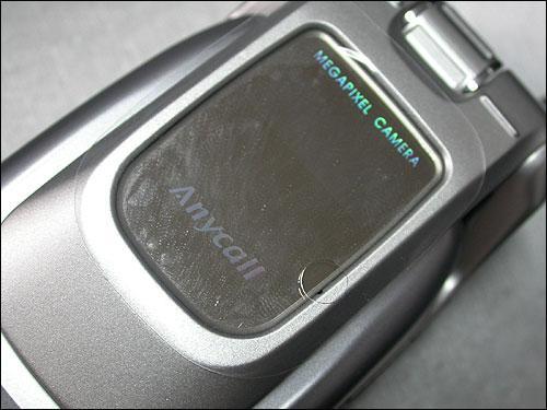 别具一格三星百万像素横屏手机E159到货(5)