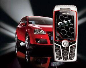 西门子S65大众高尔夫GTI特别版手机将面市