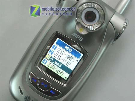 CDMA手机今日价格:百万像素LGC260上市