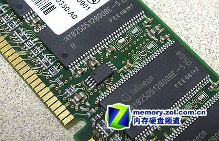 稳超DDR450英飞凌512M内存条仅售360元(2)