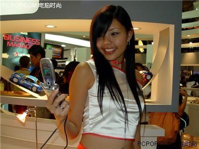 2005新加坡亚洲通讯展:现场美女激情搜索