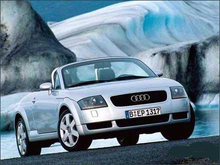 奥迪汽车公司现为欧洲最大汽车公司大众汽车公司的子公司,高清图片
