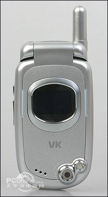 丰腴之美唯开百万像素MP3手机VK810评测