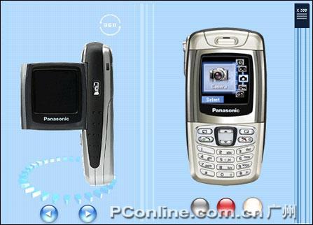 末路狂花松下DV手机X300不到1200元(图)