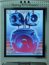音乐手机旗舰索爱200万像素W800c详尽评测(8)