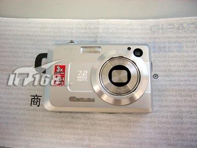 擦亮双眼市场惊现假冒卡西欧数码相机(图)