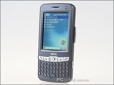 Qwerty键盘输入更方便明基PPC手机P50评测