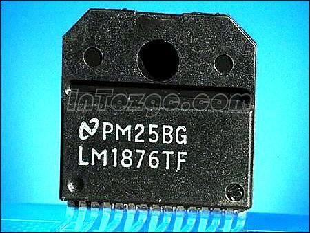 多媒体音箱上使用的功放集成电路主要有tda2025,tda2030a,lm1875t,lm1
