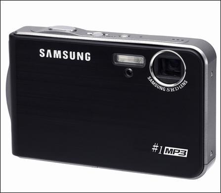 自带MP3功能三星推出时尚型数码相机#1