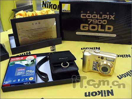 全球限量发售黄金版DC尼康7900今开卖