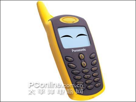 松下推出了一款专门针对年轻人的超可爱外形的黑白屏手机a101.