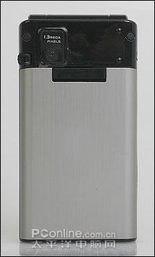 内置石英钟手机阿尔卡特简约折叠S850评测