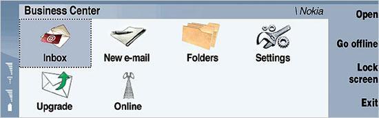 诺基亚推出最新S80平台软件商务中心