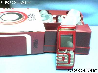性感女人必备诺基亚推出玫瑰红版7260