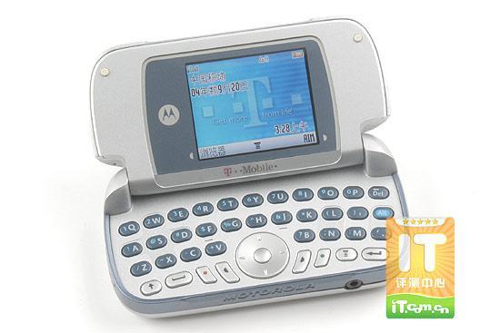 摩托罗拉QWERTY键盘手机A630详尽评测