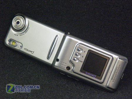 新双面佳人泛泰PG6100顶级拍照手机上市