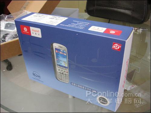 挑战夏普屏幕多普达QVGA靓屏智能机566上市