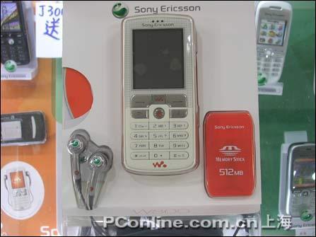 降价无极限索爱音乐手机W800c跌破3600元