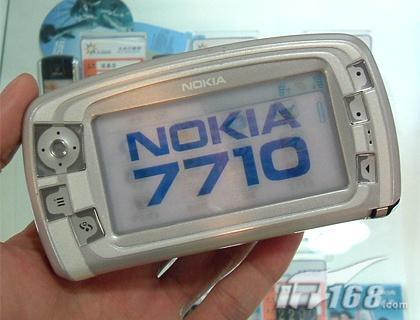 值诺基亚7710报价不足四千元