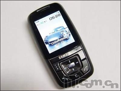 三星超强功能D608滑盖手机标价5200元