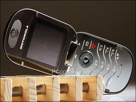 鹅卵石外型设计MOTO尊贵折叠手机U6评测