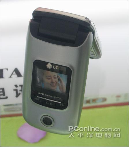 内置疯狂英语LG折叠MP3手机C280低价上市