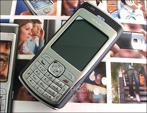 备受关注诺基亚200万像素N70行货上市
