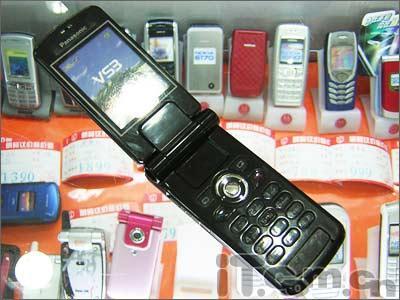 身薄屏靓松下1600万色手机VS3仅售2220