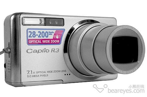 最薄的7X变焦相机便携偷拍利器理光R3