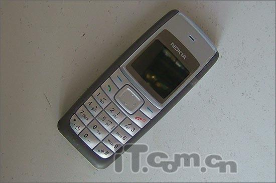 低端特价诺基亚MP3铃声手机1110仅售599