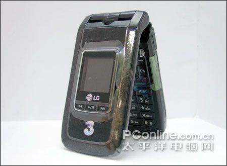 18mm最薄3G手机LG可插卡折叠U880上市