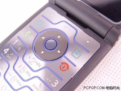 完美刀片现身摩托罗拉3G手机V3i简体版上市