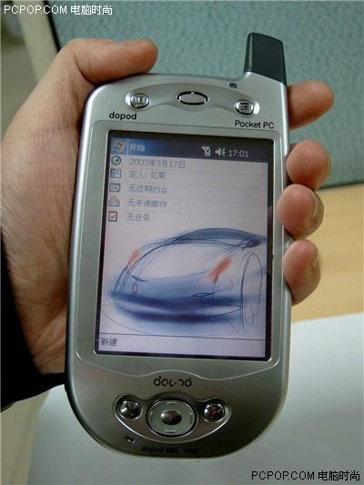 疯狂甩卖多普达智能手机686仅1600元